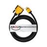 کابل تبدیل D - DVI به HDMI